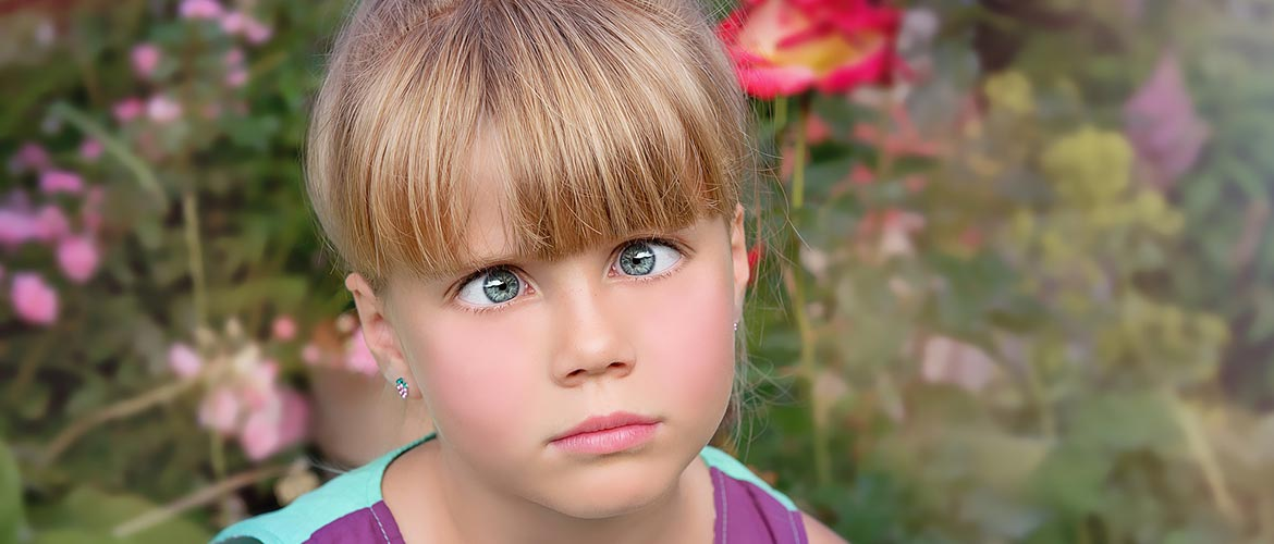 Little Girl with Eyes Crossed - The Out Of My Mind Blog